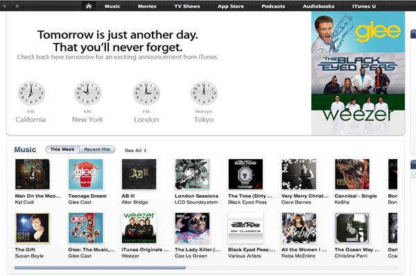 Apple iTunes announcement Tuesday Nov. 16