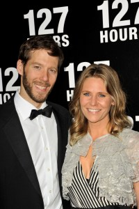 Aron Ralston and his wife
