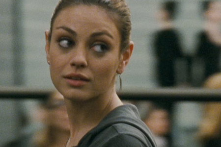 Mila Kunis in Black Swan. Mila Kunis: The thing about ballet that I never