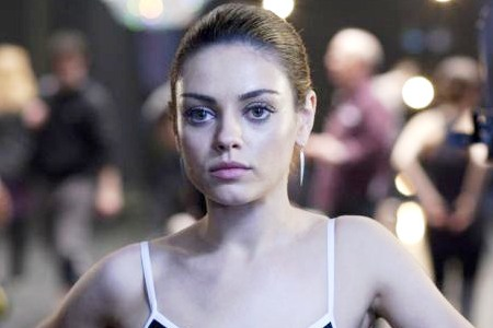 Mila Kunis in Black Swan. Doing the dance of balancing the terror of reality