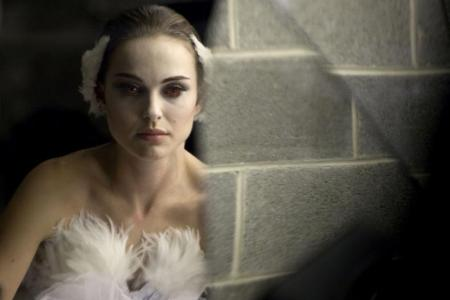 Natalie Portman in Black Swan. Picture Natalie looking demure and all class