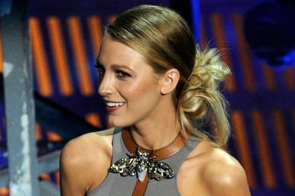 blake lively hair 2011. Blake Lively Hair Updo