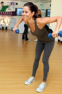 Brooke Burke invites SheKnows to her workout