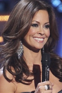 Brooke Burke hosts DWTS
