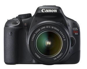 Canon EOS Rebel T2i 18.0 Megapixel Digital SLR Camera