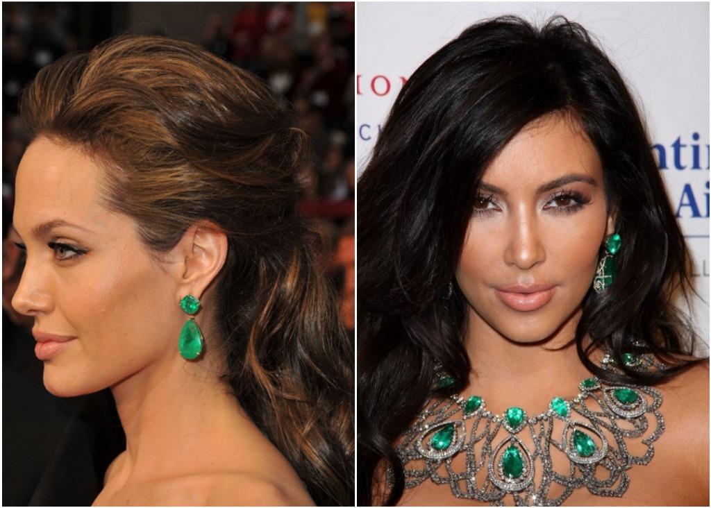Celebrity trend: Emerald green jewels