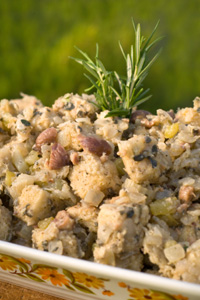 Chestnut Sourdough Stuffing