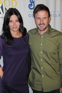 Courteney & David may reconcile?