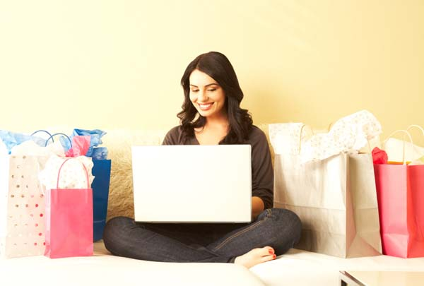 Cyber Monday shopper