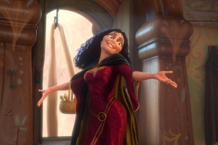 Donna Murphy in Tangled