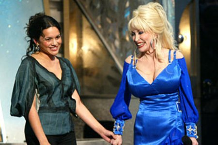 Norah Jones and Dolly Parton