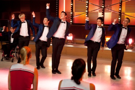 The Glee guys take us back