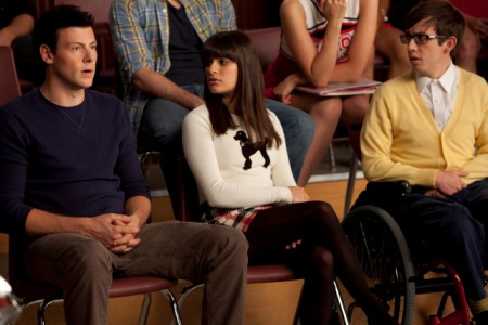 Glee explores Never Been Kissed