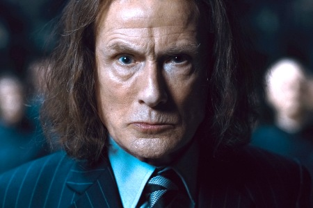 Bill Nighy in Harry Potter 7
