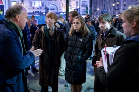 Deathly Hallows director David Yates conducts his cast
