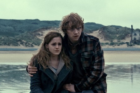 Emma Watson and Rupert Grint
