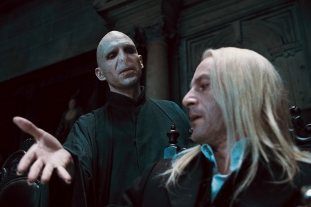 Voldemort makes his move in Harry Potter and the Deathly Hallows