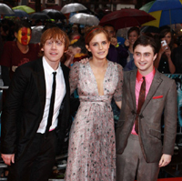 Harry Potter live from red carpet