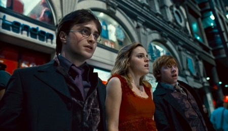 Daniel Radcliffe, Emma Watson and Rupert Grint
