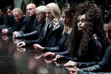 Helena Bonham Carter in Harry Potter and the Deathly Hallows