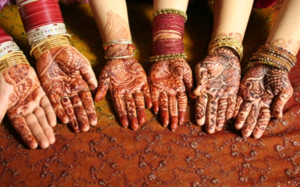Indian Henna treatment