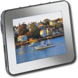 "Insignia 3.5"" Portable LCD Digital Photo Frame"
