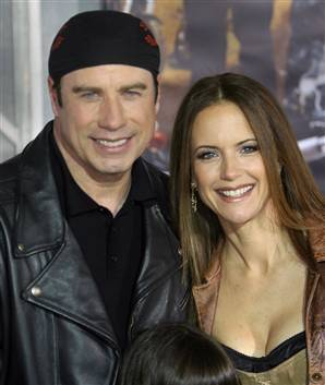 John Travolta and Kelly Preston pregnant