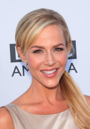 Julie Benz - side ponytail