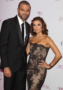 Tony Parker Eva Longoria