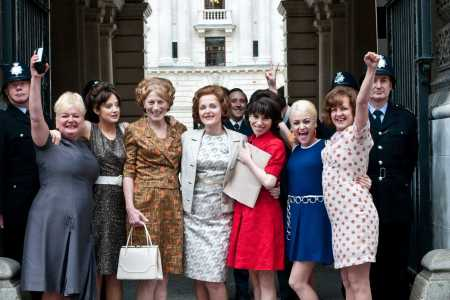 The women of Made in Dagenham triumph