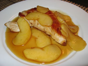 Maple Apple Turkey Cutlets