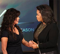 Marie Osmond on Oprah