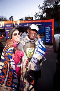Meredith Vieira and Al Roker NYC marathon