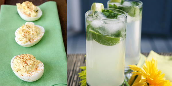 Mojitos and deviled eggs