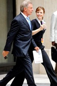 Harrison Ford and Rachel McAdams