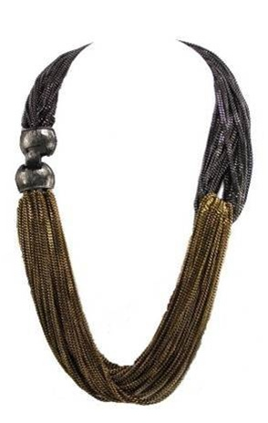 Nissa Jewelry's Twist Necklace
