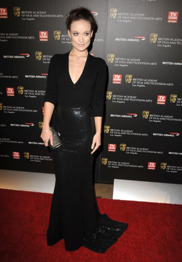 Olivia Wilde - Judith Leiber clutch