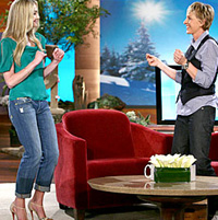 Portia de Rossi on Ellen
