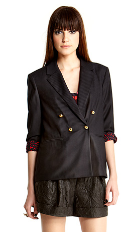 Rachel Roy Double-Breasted Dinner Jacket