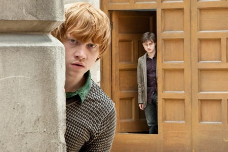 Rupert Grint in Harry Potter