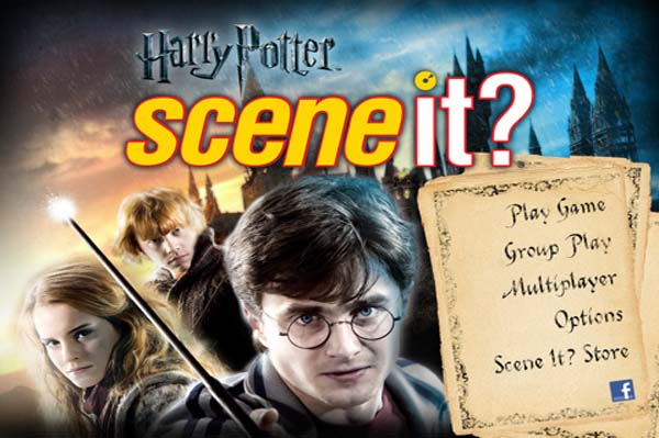 New Harry Potter and the Deathly Hallows app: Scene It? Harry Potter app