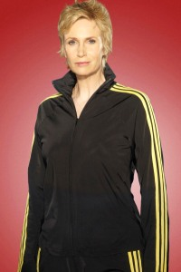 Jane Lynch is Sue Sylvester on Glee