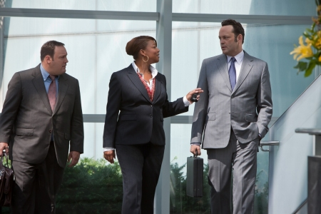 Kevin James, Queen Latifah and Vince Vaughn