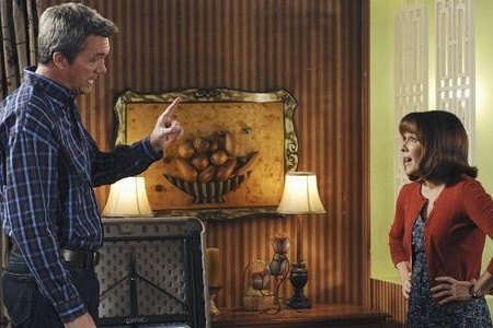 Neil Flynn and Patricia Heaton on The Middle