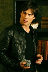 Ian rivets on Vampire Diaries