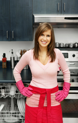 How To Tackle A Kitchen Full Of Dirty Dishes