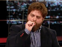 Zach Galifianakis on Bill Mahar