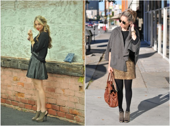 Fall to winter blogger style