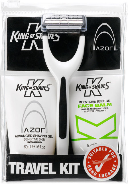 King of Shaves Travel Kit