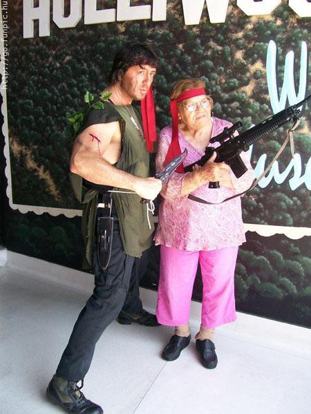 Rambo grandma